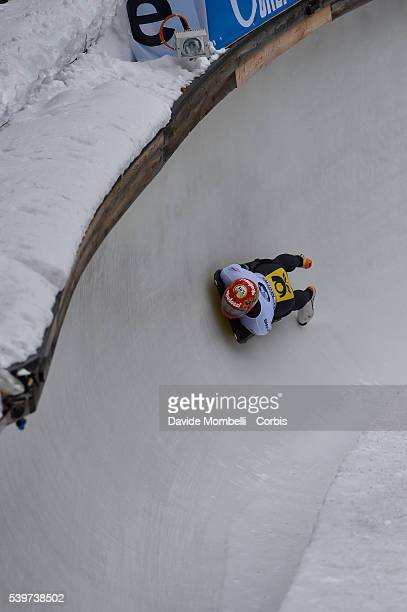 Skeleton BMW IBSF World Cup Bob 2015/2016 St Moritz Swiss