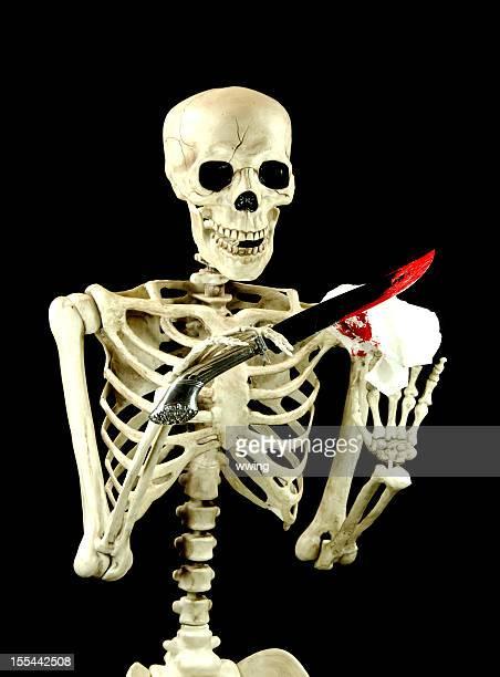 Squelette nettoyage couteau