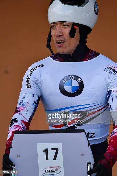 Skeleton contour moments BMW IBSF World Cup Bob 2015/2016 St Moritz Swiss