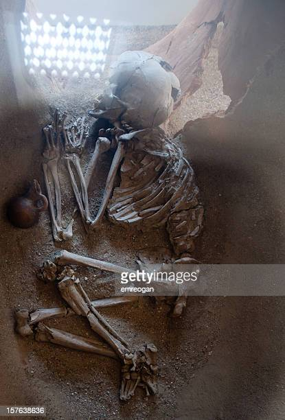 skeleton looking from antiquity