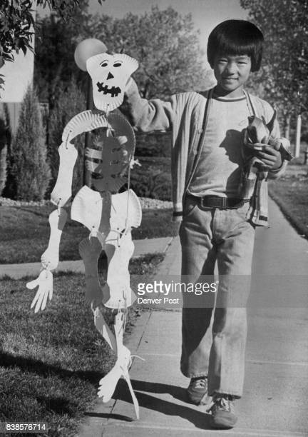 Skeleton Of An Idea Nine yearold Chris Brownlee was accompanied home Tuesday by a rather looselimbed fellow a paperplate skeleton he had made for...
