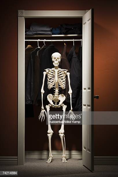 Skeletons In The Cupboard Stock Photos And Pictures