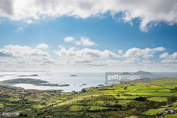 skelling islands from ring of kerry - atlantic ocean stock pictures, royalty-free photos & images