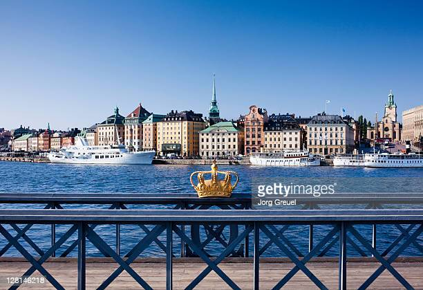 Skeppsholm Bridge and Riddarholmen island