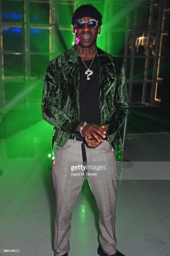 Skepta attends as Dazed + ck one celebrate the launch of the Dazed 100 at 180 The Strand on April 6, 2017 in London, England.