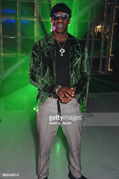 Skepta attends as Dazed ck one celebrate the launch of the Dazed 100 at 180 The Strand on April 6 2017 in London England