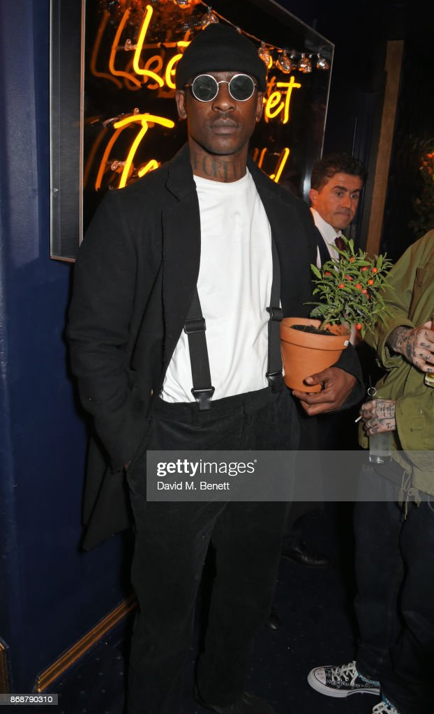 Skepta attends Fran Cutler's Halloween Freak Show at Tramp on October 31, 2017 in London, England.