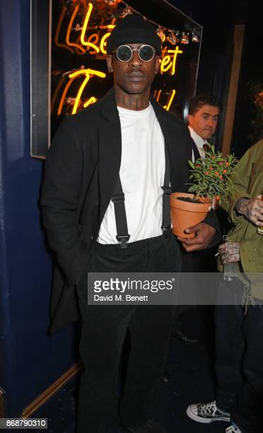 Skepta attends Fran Cutler's Halloween Freak Show at Tramp on October 31 2017 in London England
