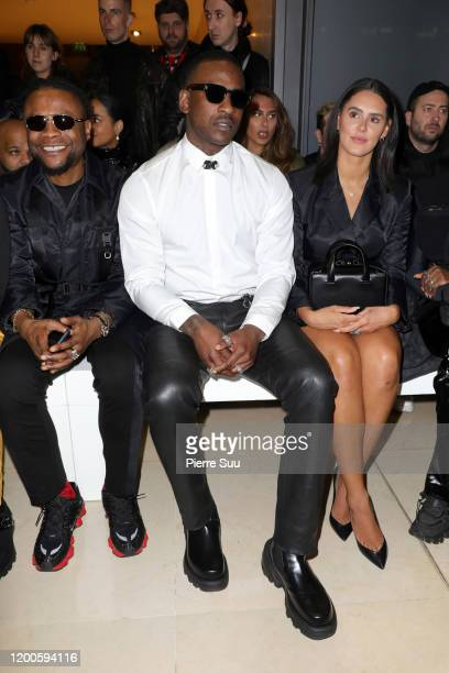 Skepta attends the Alyx Menswear Fall/Winter 2020-2021 show as part of Paris Fashion Week on January 19, 2020 in Paris, France.