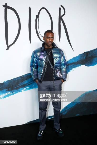 Skepta attends the Dior Homme Menswear Fall/Winter 20192020 show as part of Paris Fashion Week on January 18 2019 in Paris France