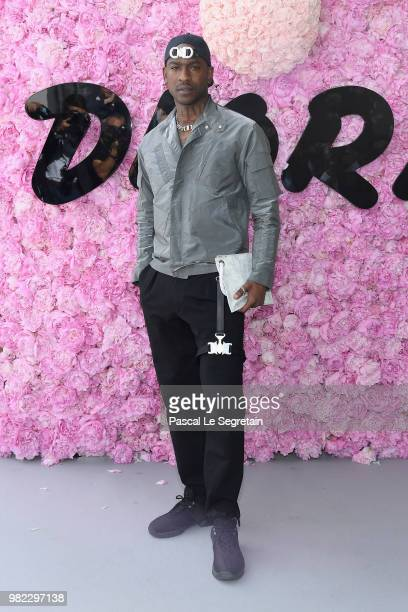 Skepta attends the Dior Homme Menswear Spring/Summer 2019 show as part of Paris Fashion Week on June 23 2018 in Paris France