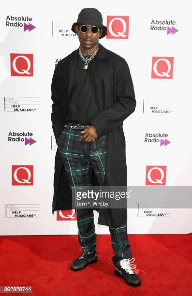 Skepta attends the Q Awards 2017 in association with Absolute Radio held at the Roundhouse on October 18 2017 in London England