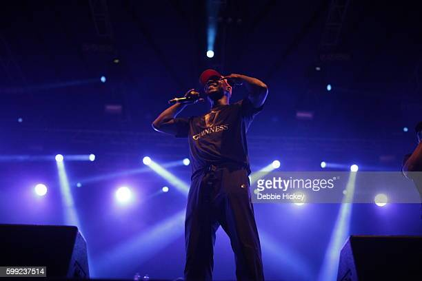 Skepta performs at Electric Picnic Festival at Stradbally Hall Estate on September 4 2016 in Laois Ireland