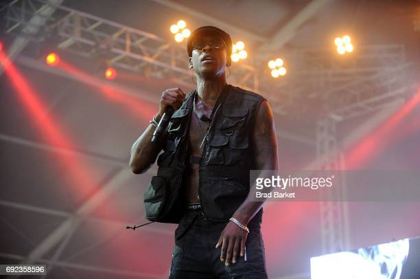 Skepta performs at the 2017 Governors Ball Music Festival Day 3 at Randall's Island on June 4 2017 in New York City