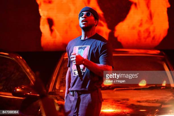 Skepta performs at the Hyundai Mercury Prize 2017 at Eventim Apollo on September 14 2017 in London England