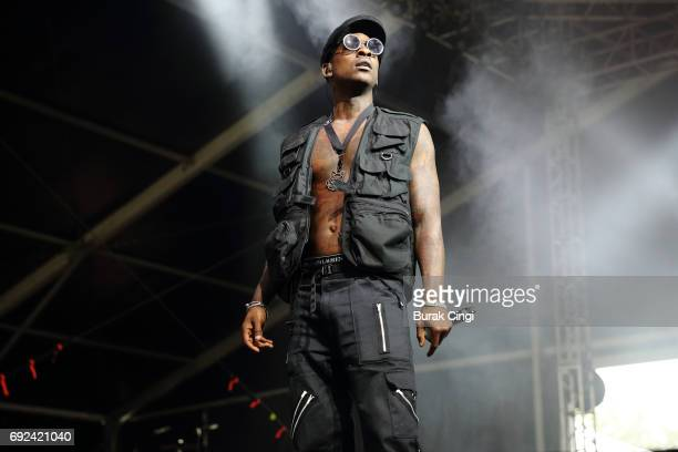 Skepta performs on day 3 of the Governors Ball 2017 music festival at Randall's Island on June 4 2017 in New York City