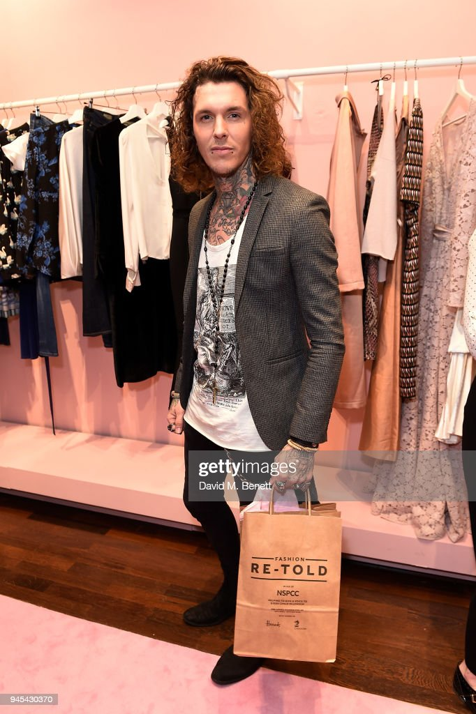 Sketch attends the launch of the Fashion Re-Told pop-up in aid of the NSPCC at 196 Sloane Street on April 12, 2018 in London, England. Fashion Re-Told, in association with Harrods and Cadogan, is open until May 13th, selling designer fashion items to raise funds for the NSPCC's work across the capital.