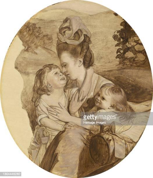 Sketch for The Copley Family, 1776. Artist John Singleton Copley.