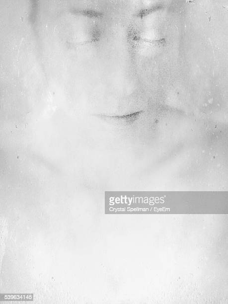 sketch of human face on white paper - human face foto e immagini stock