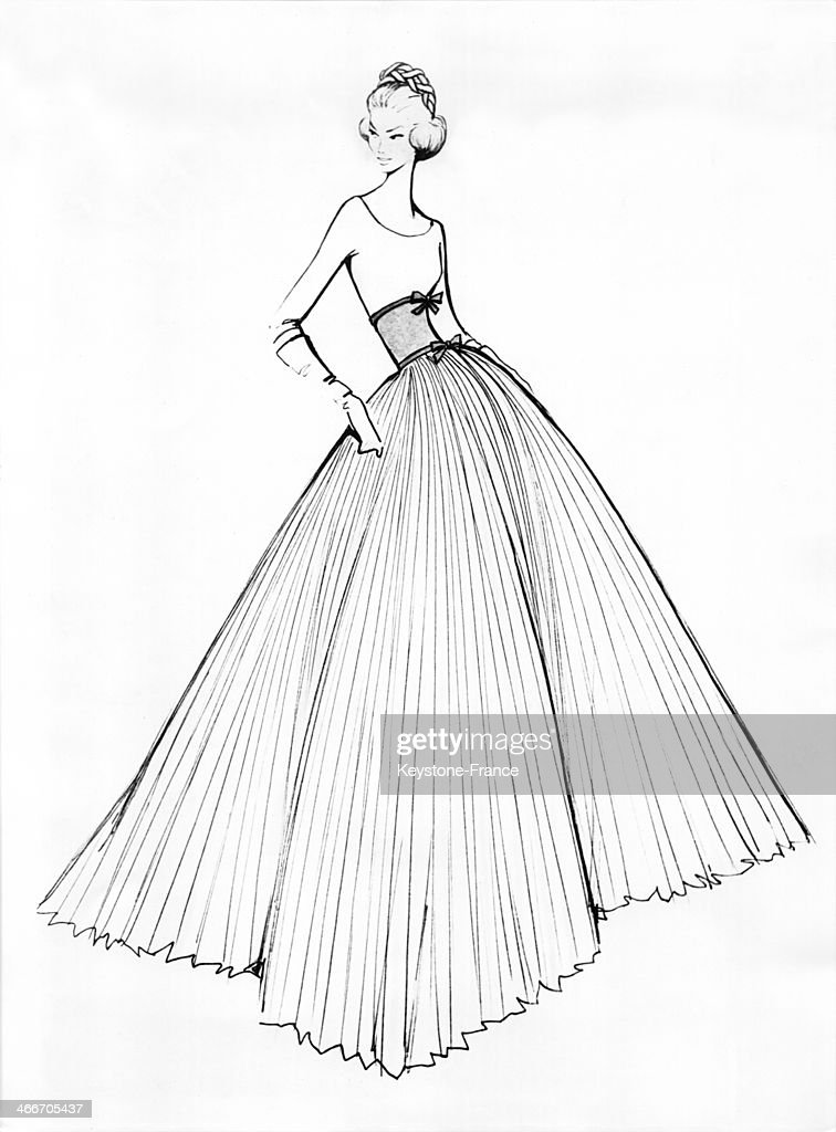 dress designed by jean desses for princess sofia s wedding fine art 1960s Hair and Clothes photo id 466705437