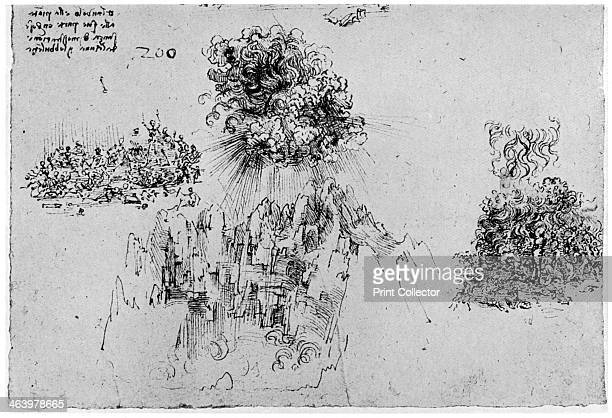 Sketch of the Last Judgement late 15th or early 16th century Found in the collection of the Royal Library Windsor Castle Windsor A print from...