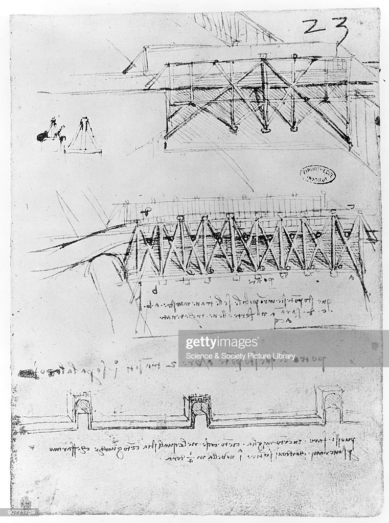Sketch of bridge designs. Pictures | Getty Images