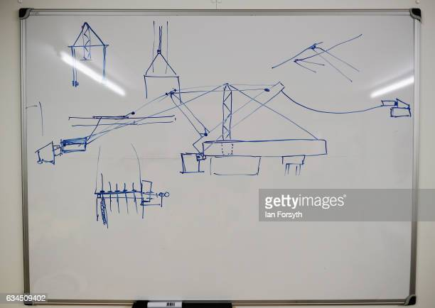 A sketch to explain part of the process of lifting the final 100 metre centrepiece of Sunderland's new River Wear crossing into place can be seen on...