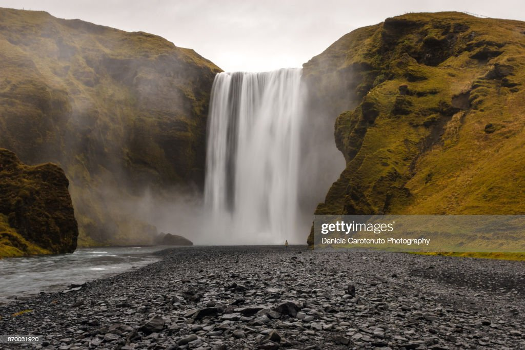 Skógafoss : Stock Photo