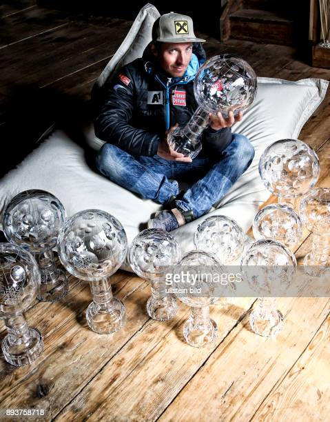 ABTENAU Ski Alpin Herren Weltcup Fotoshooting mit Marcel Hirscher 5 facher Gesamtweltcupsieger