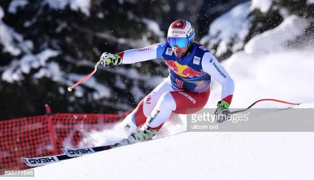 Ski Alpin Weltcup Saison 2016/2017 77 Hahnenkamm Rennen Abfahrt Training Beat Feuz