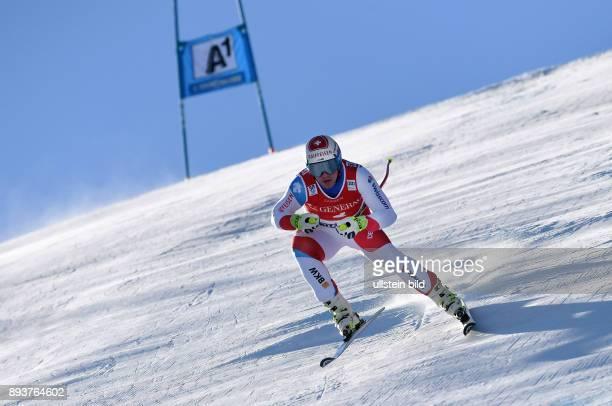 Ski Alpin Weltcup Saison 2016/2017 77 Hahnenkamm Rennen Super G Beat Feuz belegt Platz 3