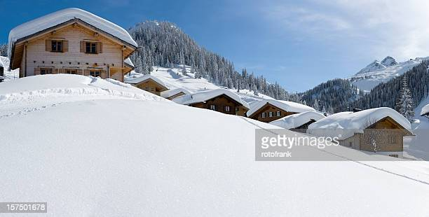 Station de Ski des Alpes XXXL (taille de l'image
