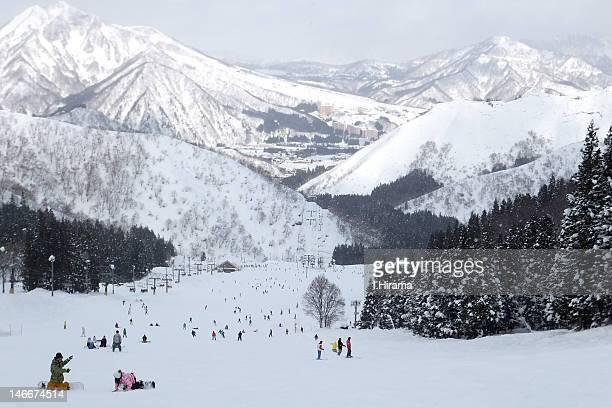 Ski area in Echigo-yuzawa