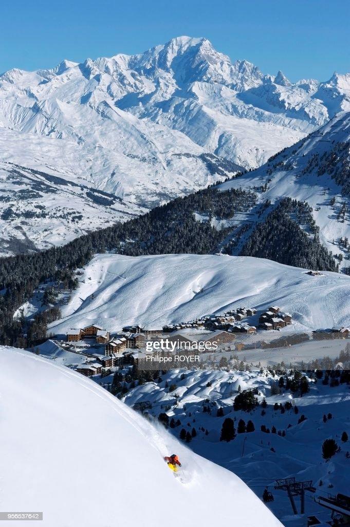 Ski hors piste : Foto jornalística