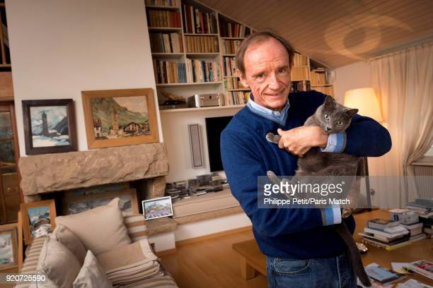 Ski champion JeanClaude Killy is photographed for Paris Match on January 15 2018 in Cologny Switzerland