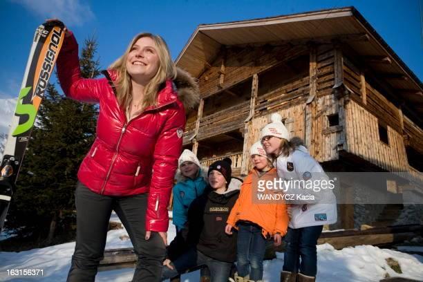 Ski Champion Tessa Worley At The Grand Bornand GrandBornand 22 janvier 2011 Tessa WORLEY 21 ans est la nouvelle star du ski français La benjamine de...