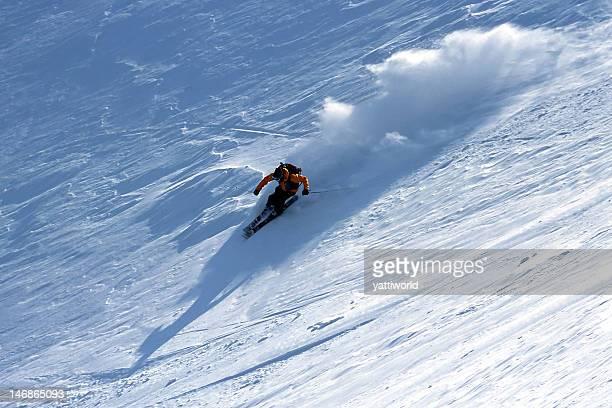 ski fast - hokkaido stock pictures, royalty-free photos & images