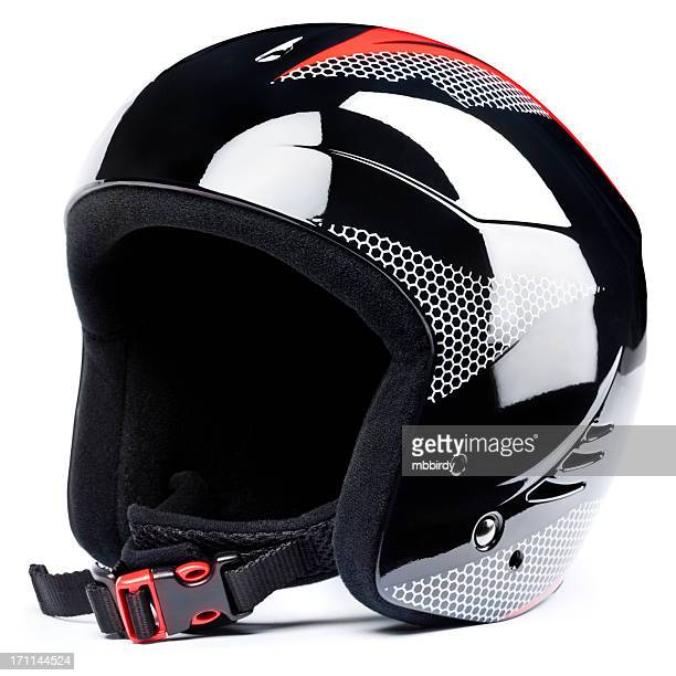 Ski helmet,  isolated on white background