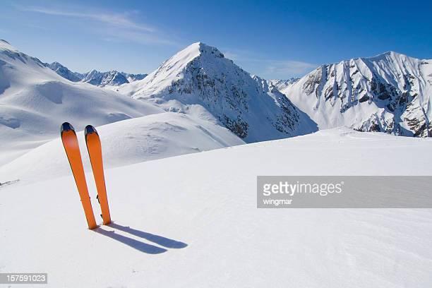ski in a winter landscape -tirol