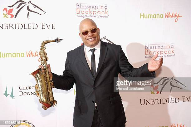 Ski Johnson attends the Unbridled Eve Gala for the 139th Kentucky Derby at The Galt House Hotel Suites' Grand Ballroom on May 3 2013 in Louisville...