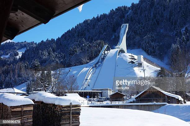 Ski Jump in Garmisch-Partenkirchen, Deutschland
