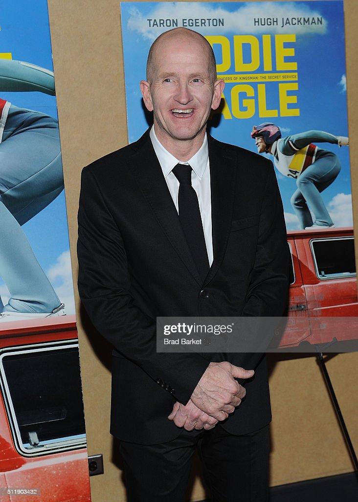 """""""Eddie The Eagle"""" New York Screening : Fotografía de noticias"""