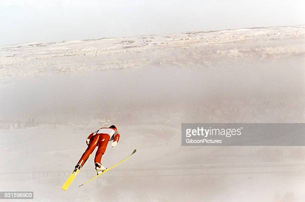スキージャンパ