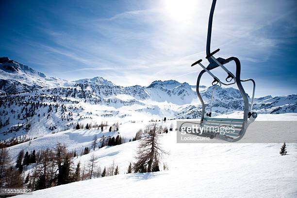 ski lft - ski lift stock pictures, royalty-free photos & images