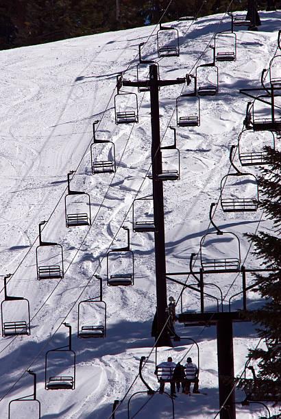 Ski lift at Yosemite National Park