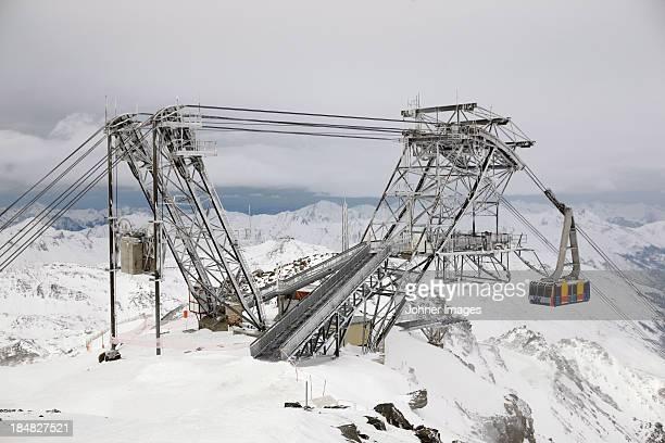 Ski lift construction