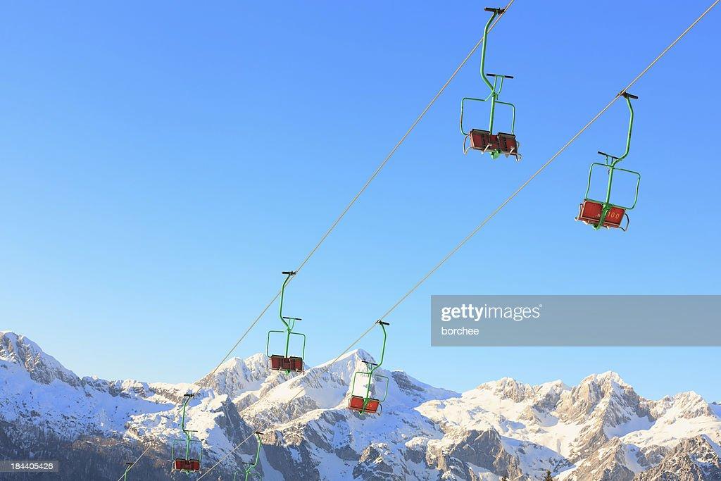 スキーリフト : ストックフォト