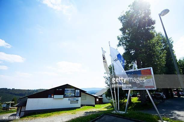 skilift postwiese im sauerland - winterberg stock-fotos und bilder