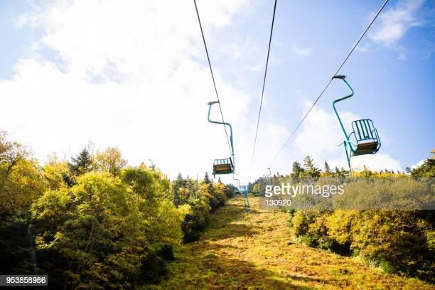 Ski lift - summer & early Fall