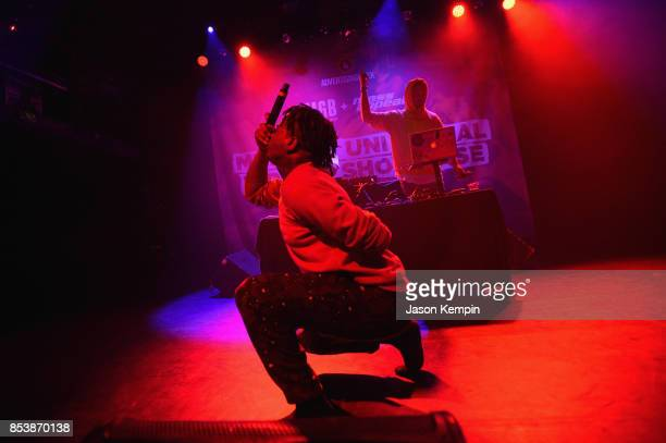 Ski Mask the Slump God performs onstage at Music Is Universal HipHop Showcase presented by UMGB Mass Appeal on September 25 2017 in New York City